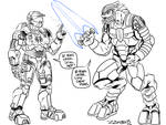 Arby N Chief 10 years by ZZoMBiEXIII