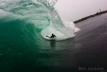 Riding the shocky by benjackson
