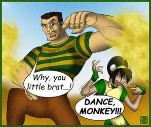 Avatar - Sandman Dances 4 Toph by What-the-Gaff