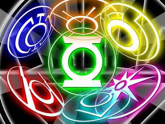 Green Lantern - The Spectrum by What-the-Gaff