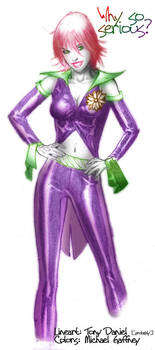 Duela Dent - Colored Lines by What-the-Gaff