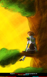 Voltron - Pidge - 4 Nature by What-the-Gaff