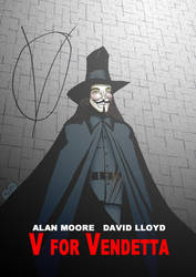 V for Vendetta - Codename V by What-the-Gaff