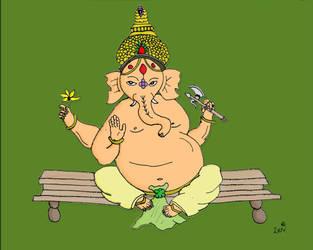 Ganesh by porcupine-matt