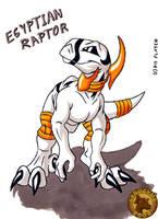 Egyptian Raptor by Lysozyme