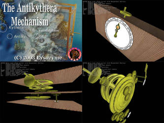 Simulation - Antikythera Mech. by Lysozyme