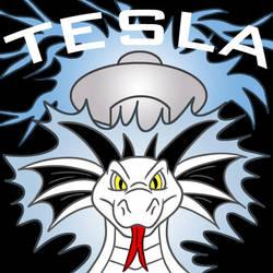 Tesla Dragon by Lysozyme