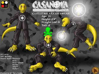 Character Layout - Casanova by Lysozyme