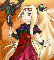 The Youthful Goddess~ by Azuhreidii