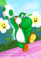 Super Smash Bros. Vault: Yoshi by RS-V22