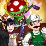 SSB Collab: Smashing It with My Mains~ by RS-V22
