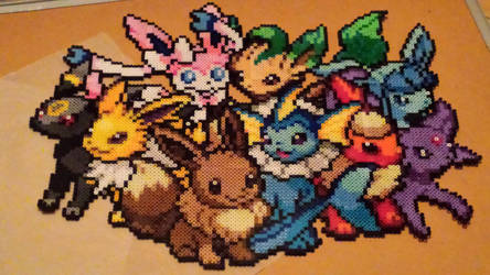 Eeveelutions by Koenki