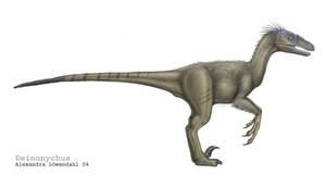 Deinonychus. by Isdrake