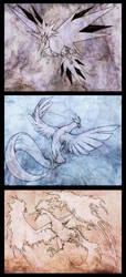 Legendary Birds by Exileden