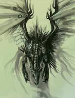 Dark Dragon by Exileden
