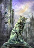 Twilight Monolith by Exileden