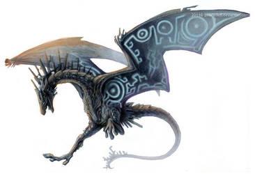 Twilight Dragon by Exileden