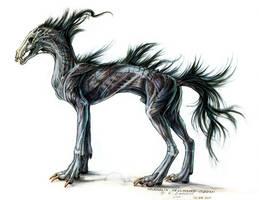 Hashmallin Hellhound by Exileden