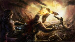 Gears of War by Exileden