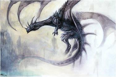 Black Dragon by Exileden