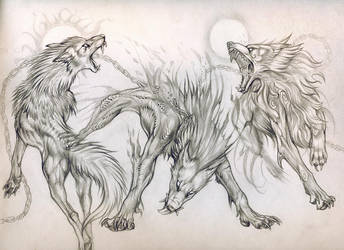 Beasts of Ragnarok Commission by Exileden