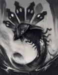 Zygarde- Midgard Serpent by Exileden