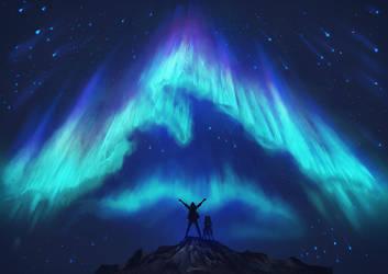 Among the Polar Spirits by Exileden