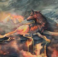 The Molten One by Exileden