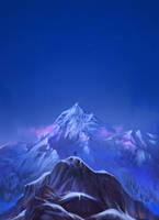 Mount Everest by Exileden