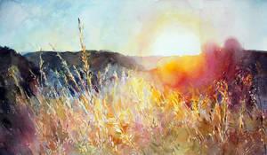 Sunset by kalinatoneva