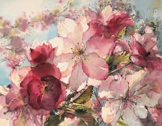 Spring by kalinatoneva