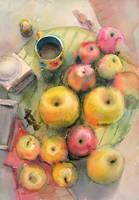 Apples by kalinatoneva