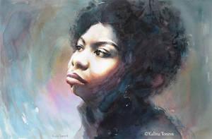 Nina Simone by kalinatoneva