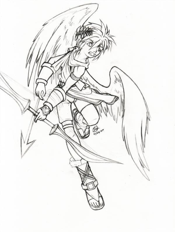pit the brawler by anime arteest on deviantart Sheik Super Smash pit the brawler by anime arteest