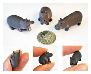 Dime Hippos by nEVEr-mor