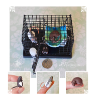 Tiny Cage and Three Dime Rats~ Cookie Commission by nEVEr-mor
