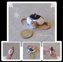 Dime Rat Cuddles ~ Rai Commission by nEVEr-mor