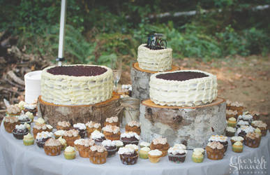 Whole Wedding Cake Displayed by nEVEr-mor
