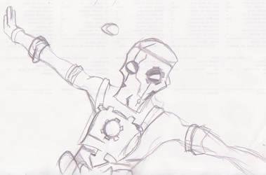 Wakfu : Nox Sketch by dracodarkarma