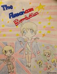 Axis Powers Hetalia - The American Revolution by SkyWarriorKirby