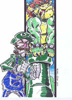 Luigi by MichaelOdomArt