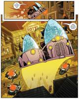 Hovercar Hijinks by MichaelOdomArt