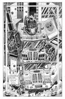 Optimus Prime by MichaelOdomArt