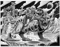 King of Castle Grayskull by MichaelOdomArt