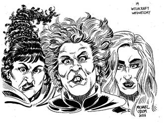 Sanderson Sisters by MichaelOdomArt