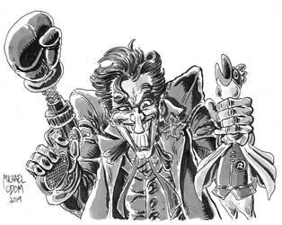 Joker by MichaelOdomArt