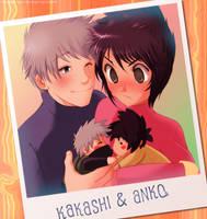 Commission: Kakashi x Anko by musechan