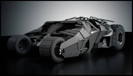 Batman's Tumbler by SpawnV2