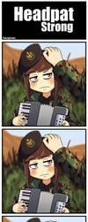 Serbia Strong: Headpat is a God by serjland