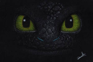 Toothless by VelleVette